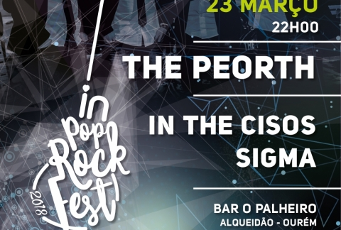 IN POP ROCK FEST 2018 COM ATUAÇÃO DOS THE PEORTH
