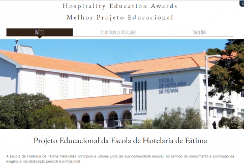 EHF candidata aos Hospitality Education Awards